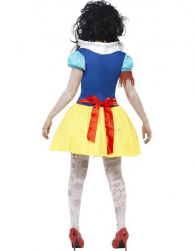 Disfarce zombi princesa conto de fadas mulher Halloween-2