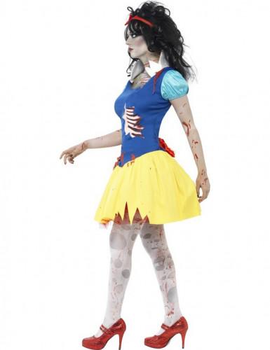 Disfarce zombi princesa conto de fadas mulher Halloween-1
