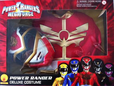 Disfarce Power Rangers Megaforça™ vermelho menino-1
