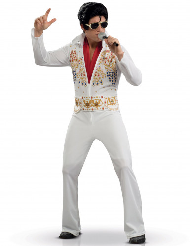 Disfarce Elvis Presley™ luxo adulto