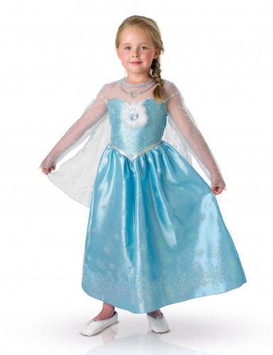 Disfarce Elsa Frozen Rainha de neve™ deluxo menina