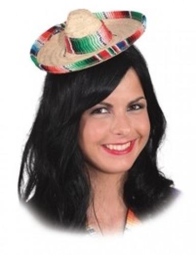 Mini sombrero adulto
