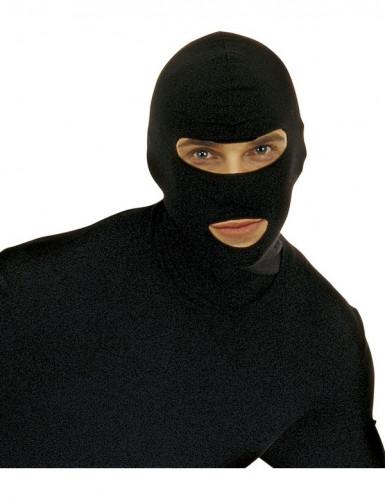 Carapuço preto adulto