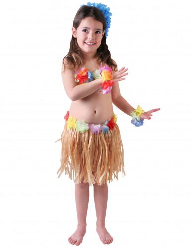 Disfarce de havaiana para menina