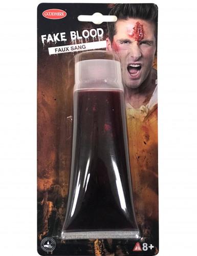 Tubo de falso sangue 100ml Halloween