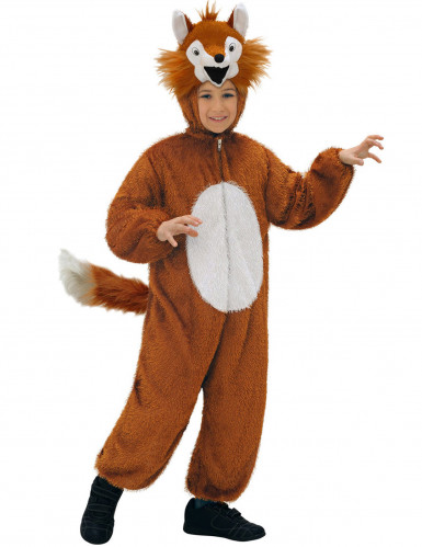Disfarce raposa criança