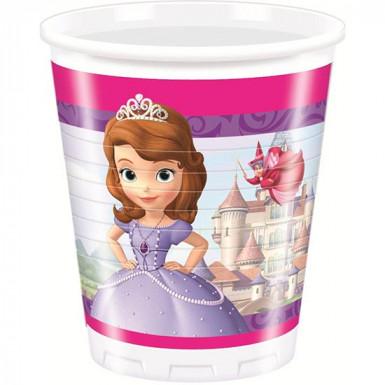 8 copos Princesa Sofia™