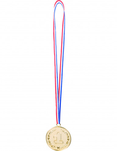 3 medalhas Número 1