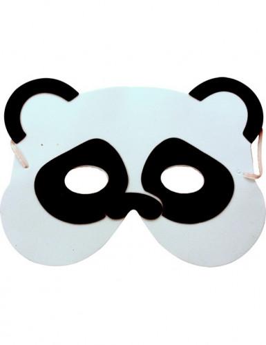 Máscara panda criança