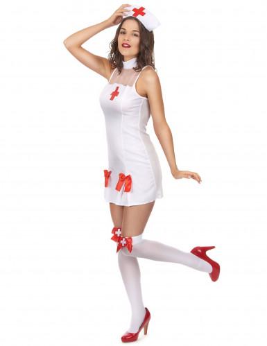 Disfarce de enfermeira para mulher-1