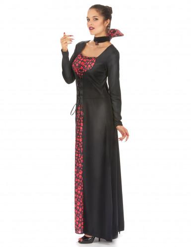 Disfarce vampira elegante mulher-1