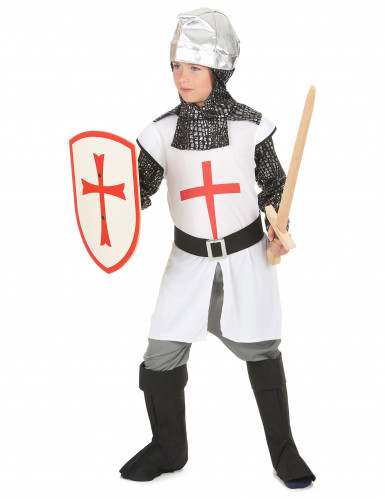 Disfarce cavaleiro medieval menino-1
