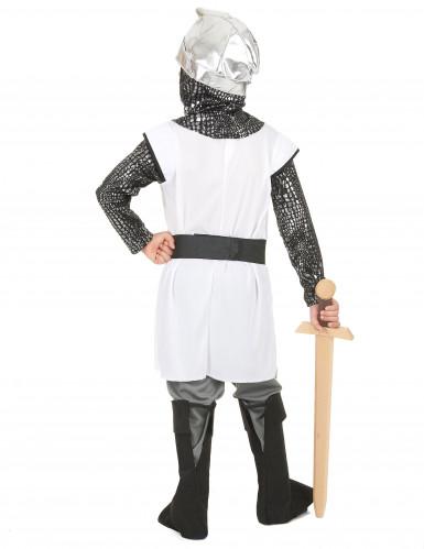 Disfarce cavaleiro medieval menino-2