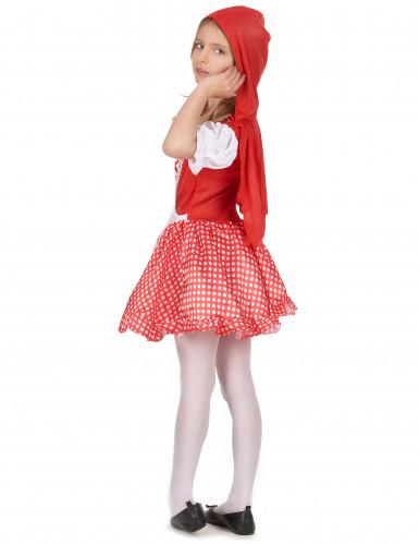 Disfarce de capuchinho vermelho menina-2