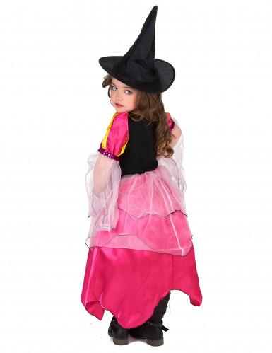 Disfrace bruxa rosa menina-2