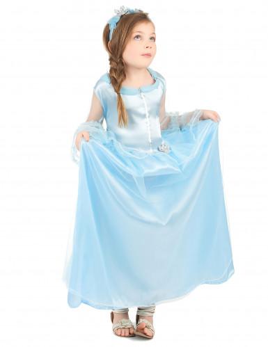 Disfarce princesa menina azul