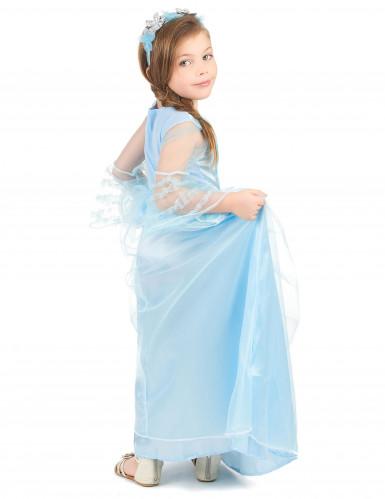 Disfarce princesa menina azul-2