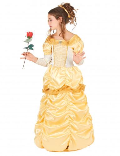 Disfarce bela princesa menina-1