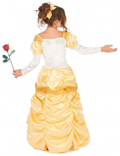 Disfarce bela princesa menina-2