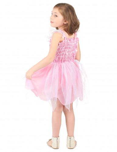 Disfarce fada cor de rosa menina-2