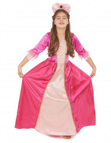 Disfarce princesa com bandolete menina