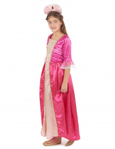 Disfarce princesa com bandolete menina-1