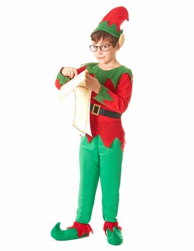 Disfarce de elfo menino-1