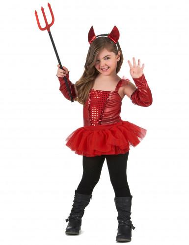 Fato de diabinha menina-1