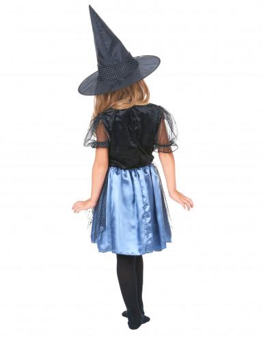 Disfarce bruxa aranha menina-2
