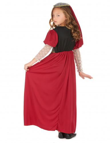 Disfarce medieval para menina-2