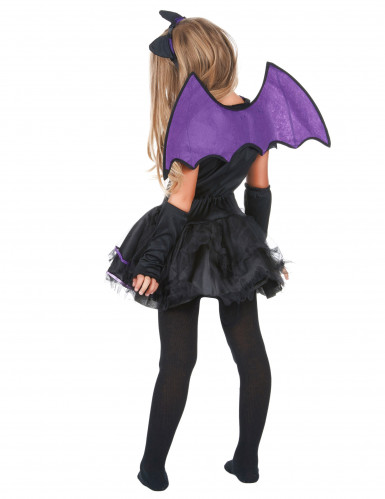 Disfarce morcego menina-2