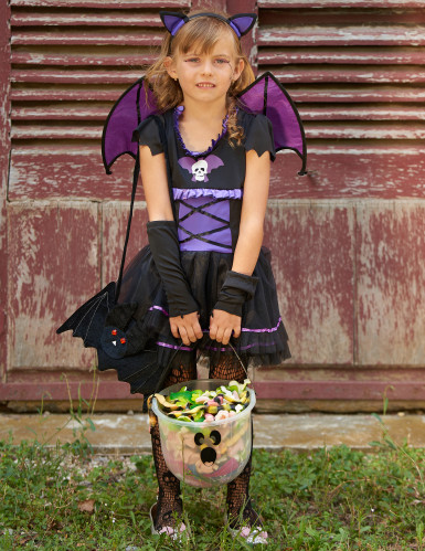 Disfarce morcego menina-4