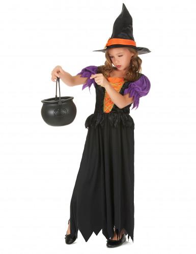 Disfarce bruxa menina-1