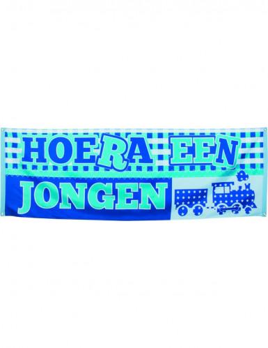 Bandeira de boas-vindas ao seu filho azul Holanda