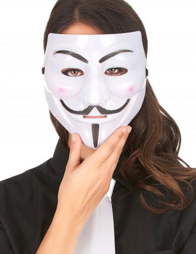 Máscara anônima - adulto-1
