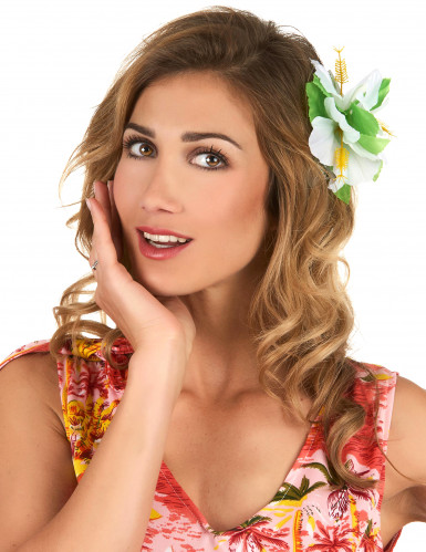 Flor branca havaiana
