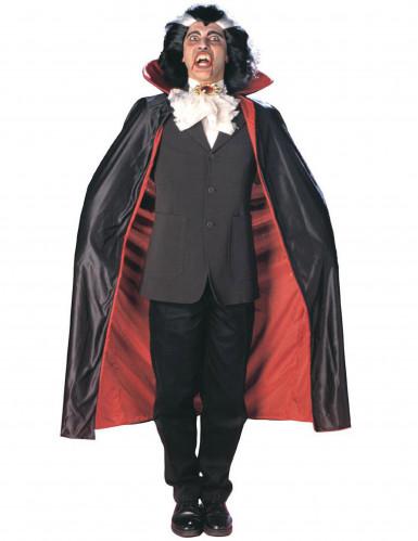 Capa vampiro reversível adulto homem Halloween