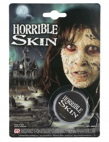 Maquilhagem pele horrível Halloween-1