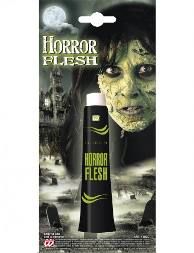 Maquilhagem pele verde Halloween-1