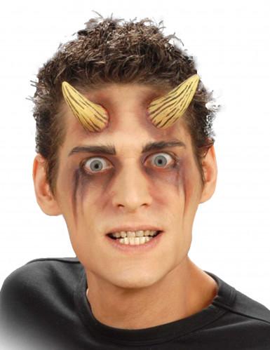 Cornos falsos demônio adulto Halloween