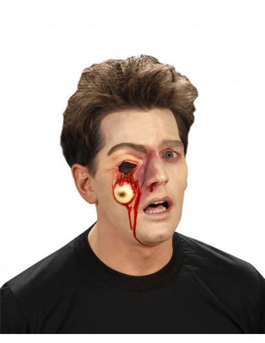 Falsa ferida olho a sair Halloween