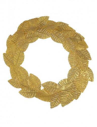 Coroa de loureiro dourado adulto-1