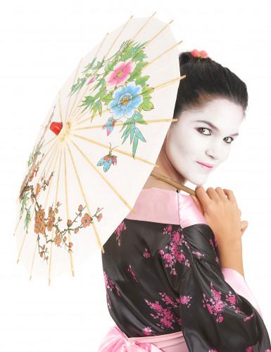 Sombrinha Chinesa branca-2