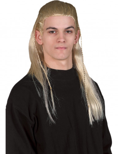 Peruca Legolas Hobbit™ adulto