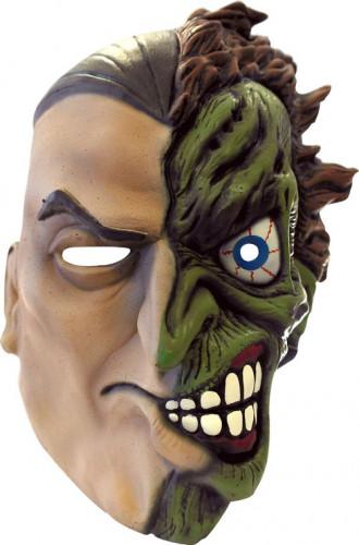 Máscara integral Double-Face Batman™ adulto