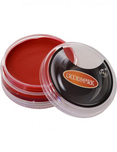 Maquilhagem de agua vermelho