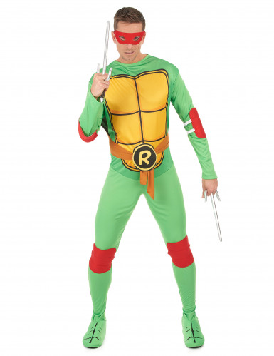 Disfarce de rafael Tartaruga Ninja™ adulto