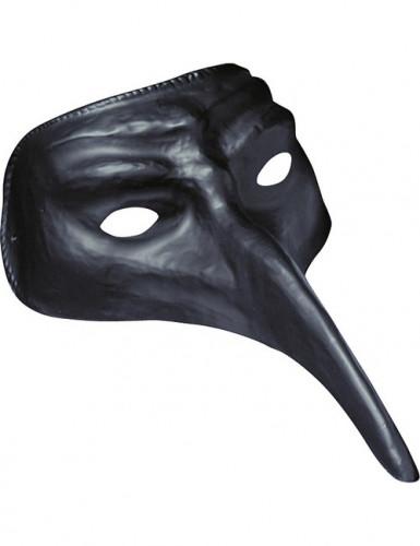 Máscara veneziana longo nariz adulto