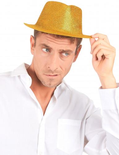 Chapéu dourado brilhante-2