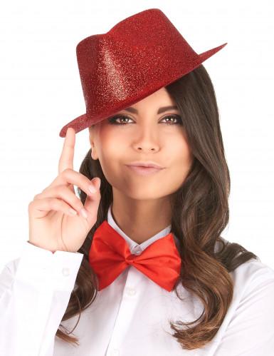 Chapéu vermelho brilhante adulto-1